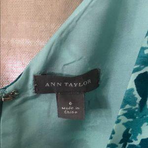 Ann Taylor Dresses - Ann Taylor Fit and Flare V-neck Dress.